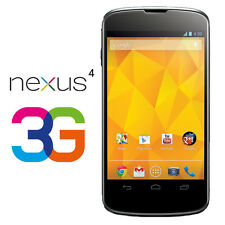 LG Nexus 4 E960 - 8GB - Black (Unlocked) Smartphone 3G - Brand New in sealed Box