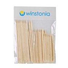Winstonia 30 Nail Care Wooden Orange Stick Cuticle Pusher Manicure Pedicure Set