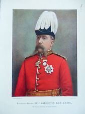 1900 LIEUT GENERAL SIR F CARRINGTON 24TH REG BOER WAR ZULU FRONTIER LIGHT HORSE