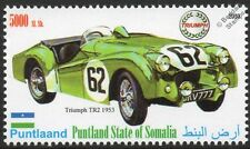 1953 TRIUMPH TR2 Sports / Race Car Automobile Stamp