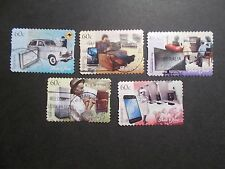 2012 Australia Self Adhesive Post Stamps~Then & Now~Fine Used, UK Seller