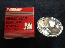 EVEREADY -  BIG JIM, SEALED BEAM HEADLAMP (4547)