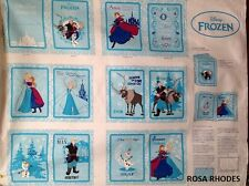 NUTEX Patchwork Tessuto-Disney congelato-Anna gli amici del gruppo (LIBRO) - 37080