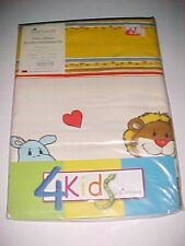 Bierbaum 4 Kids Kinder-Bettwasche Animals Pillowcase Pillow Slip Cover New