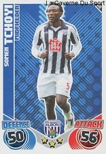 U48 SOMEN TCHOYI # CAMEROON WEST BROWMICH ALBION CARD PREMIER LEAGUE 2011 TOPPS