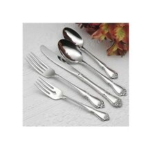 Oneida Arbor Rose Service for 12 Stainless Flatware Set