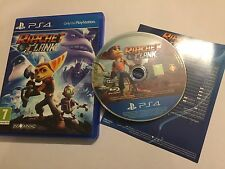 PLAYSTATION 4 PS4 GAME RATCHET & CLANK COMPLETE PAL GWO DISC EXCELLENT