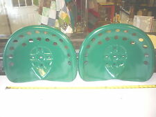 NEW   GREEN ANTIQUE STYLE HORSE  FARM MACHINE  TRACTOR METAL BAR STOOL  SEAT