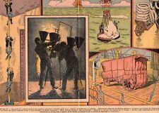 ACTUALITES POMPIER PARISIEN GUILLOTINE DEIBLER SUR BATEAU IMAGE 1934 OLD PRINT