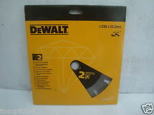 "DEWALT DT3773 9"" ANGLE GRINDER LASER DIAMOND CUTTING DISC No2 FOR ABRASIVES"