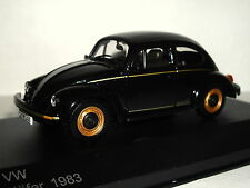 WHITE BOX VW BEETLE KAFER BLACK 1983 1/43