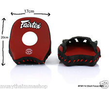 GENUINE Fairtex NEW SHORT Focus Mitts BEST MMA EQUIPMENT 7Days Made to ORDER