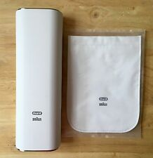 ** New ** Braun Oralb Triumph 4000 5000 7000 Series Travel Hard Case and Pouch.