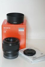 Sony 50mm f/1.8 FE lens (SEL50F18F, NEX / e-mount fit)