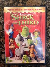 Shrek the Third (DVD,2007,Full Screen) Authentic US Release Scratch Free