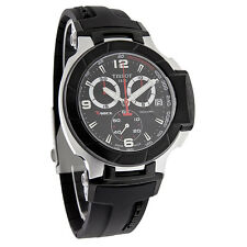 Tissot T-Race Mens Black Swiss Quartz Chrono Watch T048.417.27.057.00