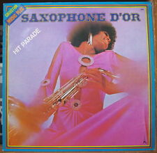 SAXOPHONE D'OR HIT PARADE SEXY AFRO COVER FRENCH LP Az 1976