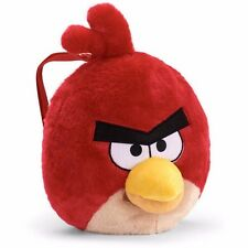 "New Angry Bird Red Kids Pig Plush 14"" Backpack Toy Plush Bag  and FREE S&H!"