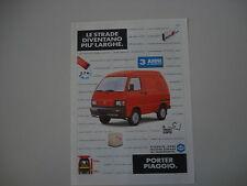 advertising Pubblicità 1993 PIAGGIO PORTER