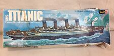VINTAGE 1976 REVELL RMS TITANIC 1/570 SCALE MODEL KIT #H-445