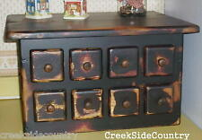 Primitive Grungy Wood EXTRA LARGE Toaster Cover - B
