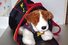 Build a Bear Puppy Dog Hoodie Sweatshirt Clothes Backpack Carrier   Lot K2