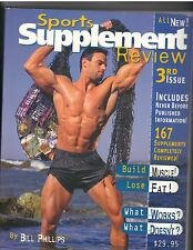 Sports Supplement Review 3rd Issue by Bill Phillips (2000, Paperback)