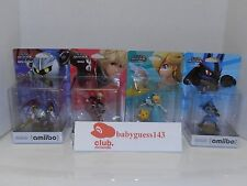 Lucario, Meta Knight, Rosalina, Shulk amiibo USA Edition | NiB Mint Condition