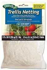 Gardeneer By Dalen Trellis Netting Heavy-Duty Nylon Tangle-Free Net 5 X 15