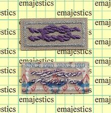 BSA ADULT RELIGIOUS AWARD SQUARE KNOT PATCH GRAY PURPLE SINCE 1910 MINT