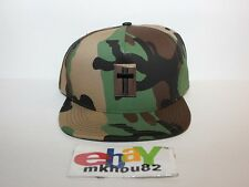 New Supreme Cross Camo Snapback 5-Panel Hat Cap 6 logo camp Fall Winter 2013