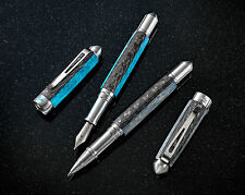 Grayson Tighe Aqua Lume Limited Edition Fountain Pen - Glows In The Dark!