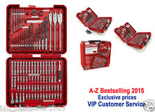 Craftsman 100-pc Accessory Kit Drill Bit Driver Screw Tools Set 31639 Case New