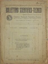 BOLLETTINO SCIENTIFICO TECNICO INDUSTRIA RADIO ITALIANA RISCALDAMENTO 1927