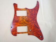 1pcs Beautiful bird's eye solid wood STRAT GUITAR Pickguard HH pickguard #3582