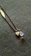 Jeanine Payer Anaya Necklace with Heart and Crystal - New