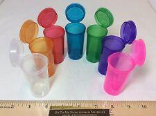 21 PC 7 Colors 13 DRAM Squeeze Pop Top 50 ML Prescription Bottle Rx Medication