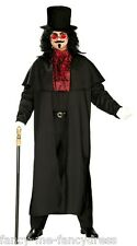 Adult Men's Lord Vampire Halloween Fancy Dress Party Costume Outfit Size Large