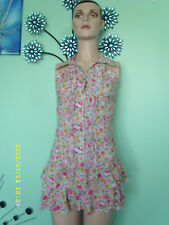 ladys floral top size m/l ofers welcome
