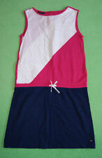 Tommy Hilfiger navy blue pink white sport dress for a girl 8-10 years size M