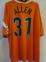 Bradley Allen Bristol Rovers Match Worn 2002-2003 Football Shirt COA /12334