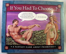 """Adult Board Game """"If You Had to Choose....?"""" New Sealed Would You Rather Fantasy"""
