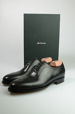 NEW 2016 3550$ KITON SHOES 100% LEATHER  SIZE 10 US 43 EU BROWN  008