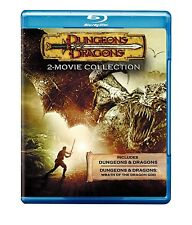 DUNGEONS & DRAGONS 1 & 2 MOVIES BLU-RAY DUNGEONS AND DRAGONS
