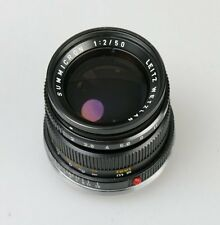 Leica summicron-M 50mm 1:2 factice Faux Noir Black