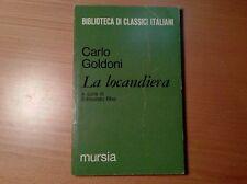 LA LOCANDIERA CARLO GOLDONI LIBRO BROSSURA