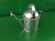 Victorian Novelty Antique English Sterling Silver Watering Can Pepper Pot