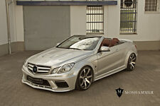 Mercedes E Coupe Cabrio 207 Widebodykit pre-Facelift E350 E500 Biturbo AMG