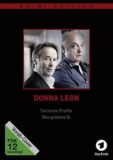 DONNA LEON: TIERISCHE PROFITE/DAS GOLDENE EI (KR  DVD NEU