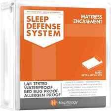 Sleep Defense System Waterproof Bed Bug Proof Mattress Encasement 60 X 80 Queen
